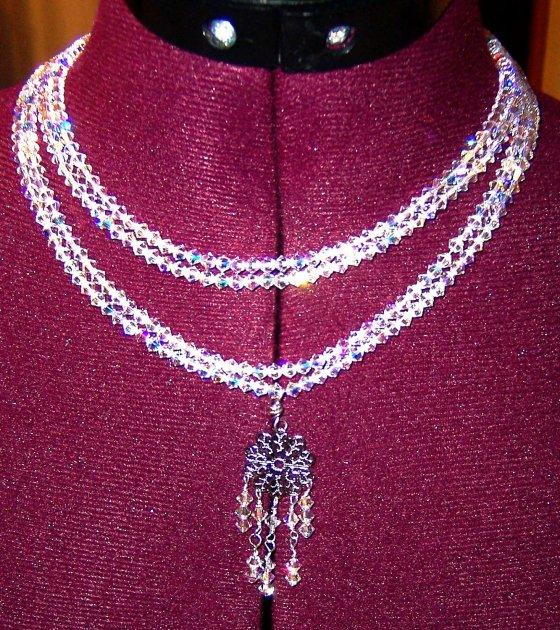 Swarovski Mother of Bride Necklace