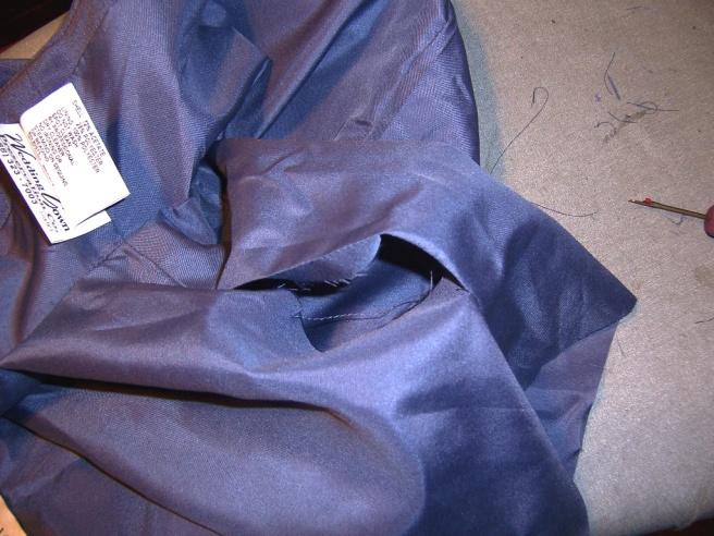 Lined Sleeve Hem 06