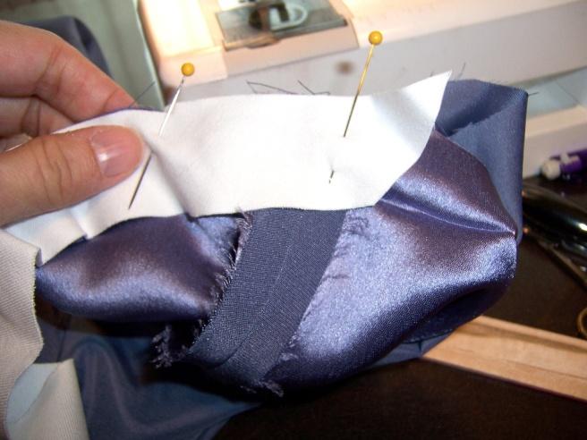 Lined Sleeve Hem 12