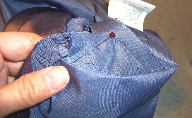 Lined Sleeve Hem 28