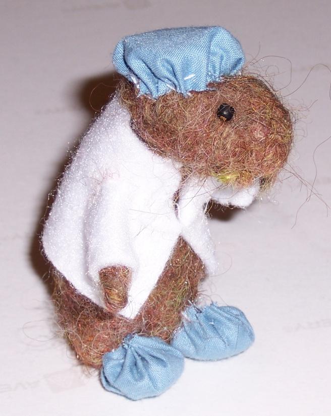 Felt Laboratory Rat