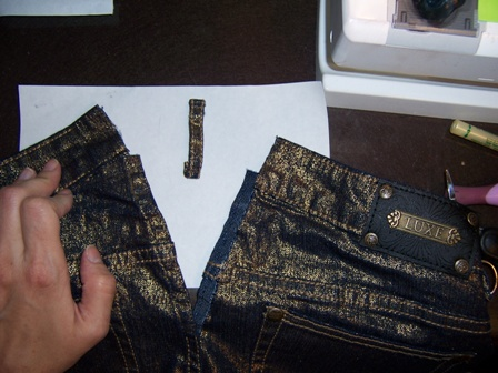 Blue Jeans Alteration