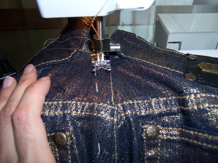 Sewing the Second stitch