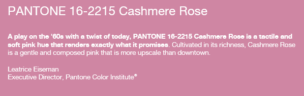Cashmere Rose